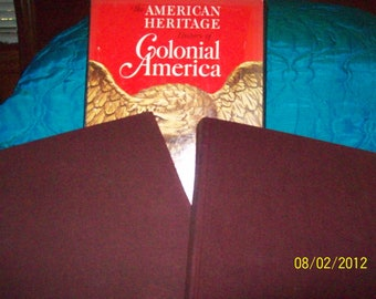 History of Colonial America in a 2 book set Colonial Antiques & The Thirteen Colonies.