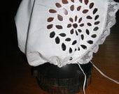 Antique Vintage Victorian Baby Bonnet