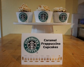 Starbucks Dessert/Candy Table Labels