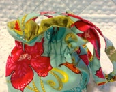 Tropical Themed Reversible Toddler Purse