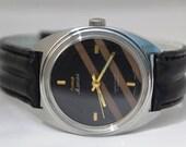 Unused Vintage HMT Indian Mens Wrist Watch 17 Jewels Hand Winding