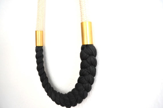 rope necklace  ( i s a b e l )