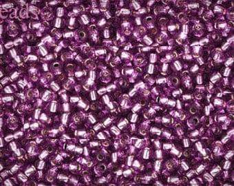 11/0 TOHO seed beads 10g Toho beads 11/0 seed beads Lt Grape 11-2219 Purple Purple seed beads