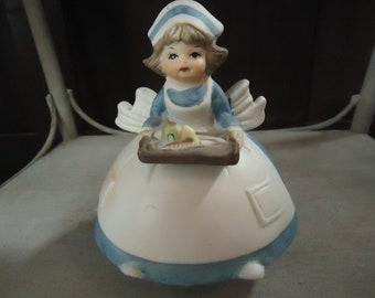 Vintage Nurse, Musical Figurine, You Light Up My Life