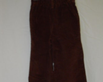 vintage 1970s child's brown corduroy pants  Billy the Kid size 2T