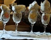 Personalized Acrylic Wine Glasses
