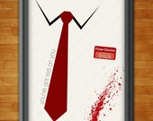 16x20 - Zombie Movie - Minimal Poster Design Series