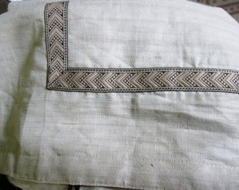 Vintage Table Runner Retro Made in India Silk Cotton Dry Clean