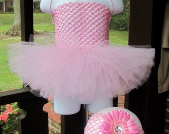 Angels Collection Tutu Set in Pink sizes New Born to 9 Months