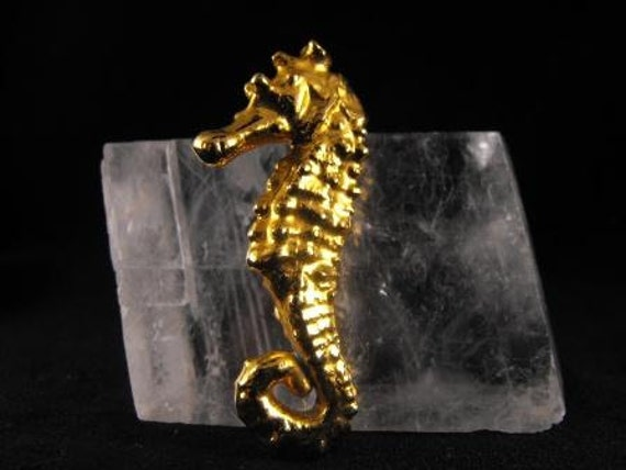 RESERVED TAMEE:Seahorse Pendant Brooch Natural History Museum 20.00 obo