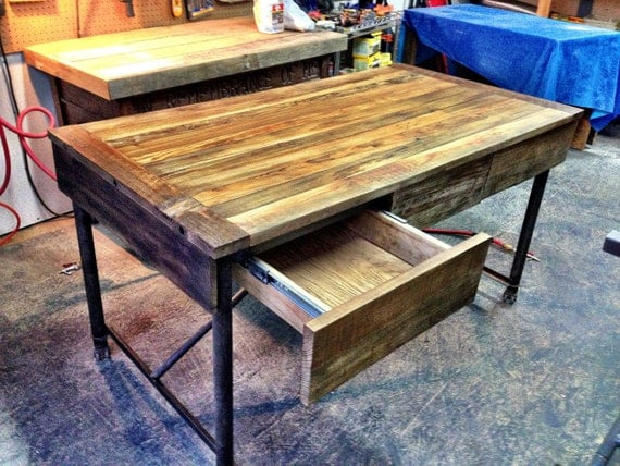 Items similar to reclaimed vintage desk like restoration for Vintage sites like etsy