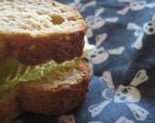 back to school reusable sandwich wrap