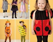Simplicity Costume Sewing Pattern 0809 (aka 2304) - Toddler's Fantasy Costumes (.5-4)