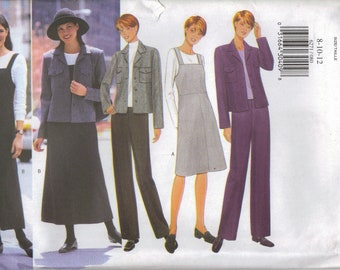 Butterick Sewing Pattern 6271 - Misses' Jacket, Jacket, Pants (8-12, 14-18, 20-24)
