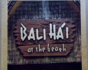 Bali Hai Ponchartrain Beach New Orleans Coaster