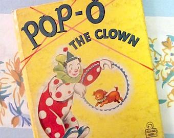 Pop-O The Clown, 1950 Whitman Tell-A-Tale