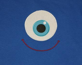 Monster Eye t shirt or infant bodysuit