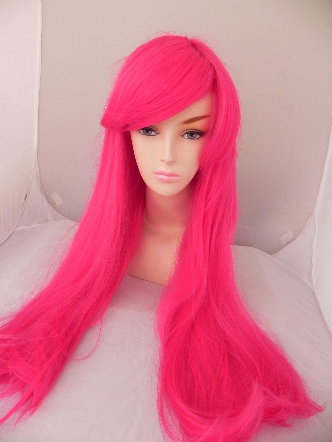 Items similar to Audrey Kitching Inspired / Hot Pink
