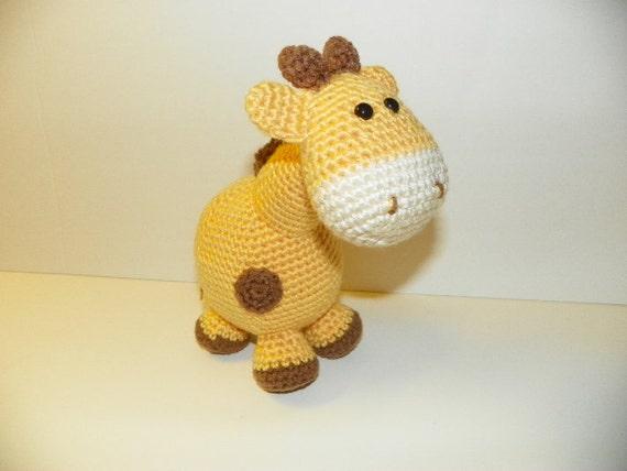 Gippy Giraffe crochet pattern
