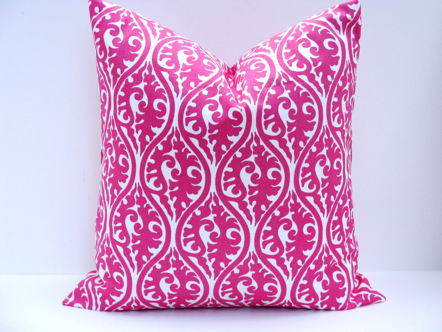 Pink Decorative Pillow Covers : Pink Pillow.Decorative Pillow Cover.ONE 20x20inch. by EastAndNest