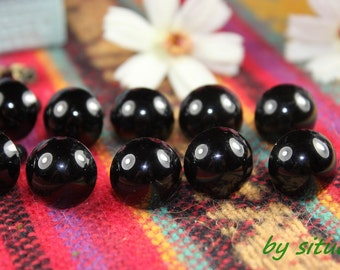 50 pairs 12mm Black Safety Eyes