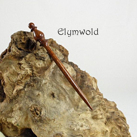 Hair stick - 160mm - Handmade from Australian black wattle.