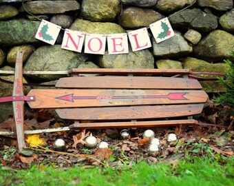 Christmas Decortion - Christmas banner - Noel - Christmas Bunting - Christmas Garland