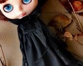 Gothic Dress - Black - Long Sleeve