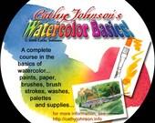 Cathy Johnson's Watercolor Basics CD