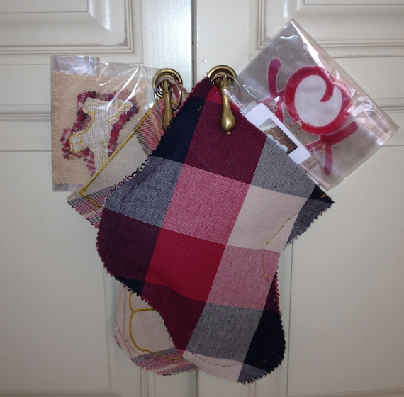 Gift Stocking, Embroidery Sock for Christmas