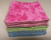 Custom Order: Flannel Family Cloth / Washable TP / Reusable Baby Wipes - 18 Single Ply - Dees Transformations
