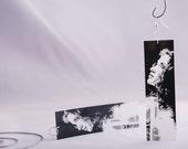 Plastic Photo Earrings - Original Photography - Abstract Art Print Film
