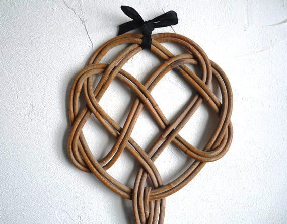 Vintage Carpet Beater Rug Beater Made Of Wicker By