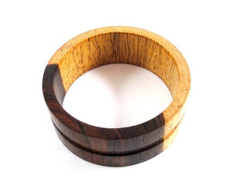 Wood Bracelet No. 120809 - Cocobolo