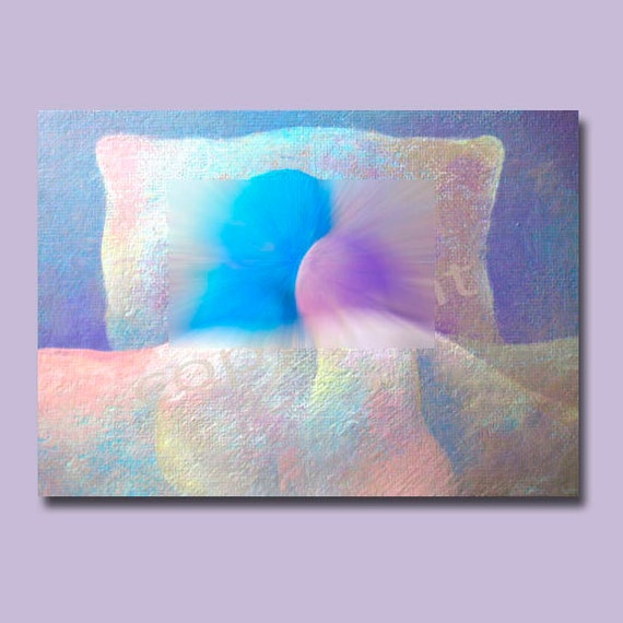 Dreamy----original acrylic giclee art print