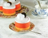 Candy Corn Mousse Play Food