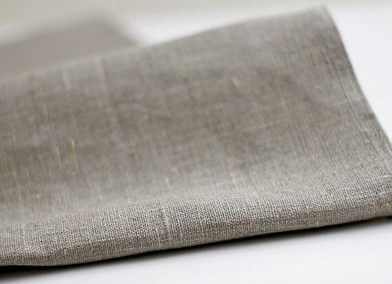 Natural linen fabric 3 yards
