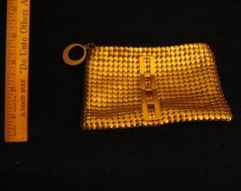 Gold chainlink purse