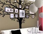 "Wall decal, 84"" Tall Family Tree  - Nursery Wall Decal"
