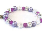 Lilac Butterfly Bracelet