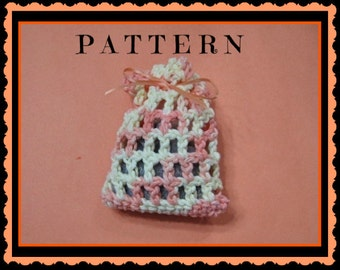 Crochet Pattern SACHET Digital Download