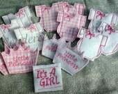12 (one dozen) Baby Shower Favors