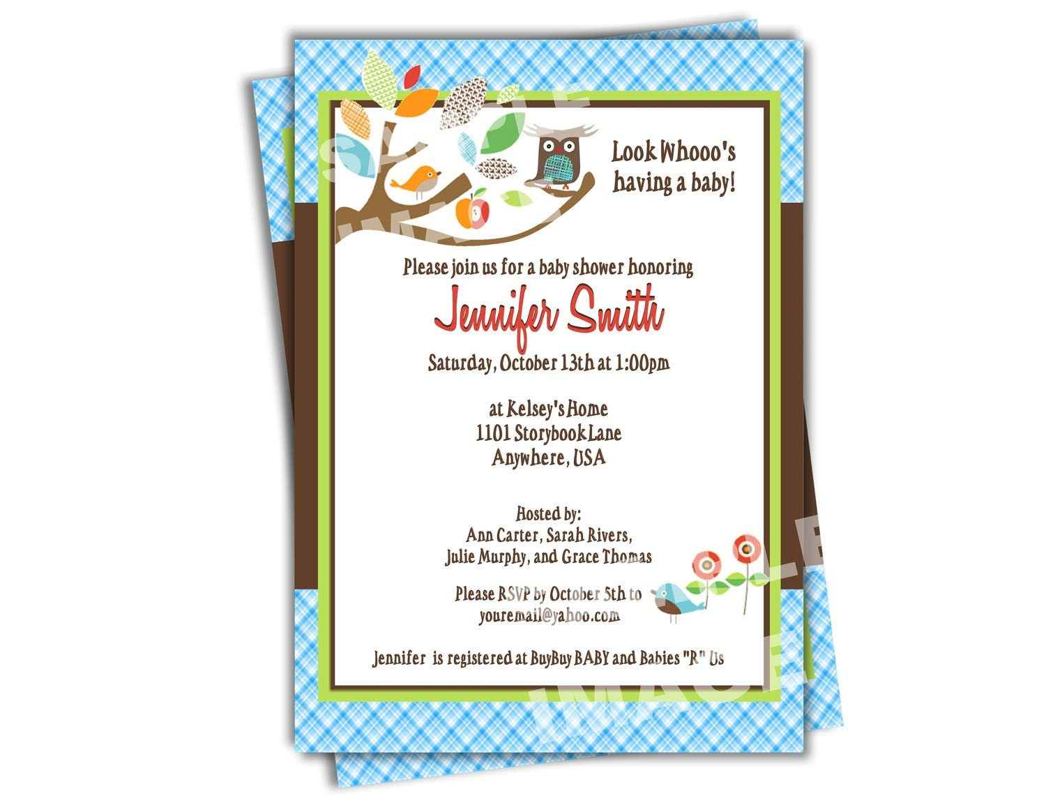 Baby Shower Owl Theme Invitations as nice invitations example