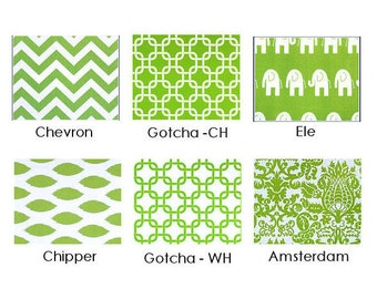 Throw pillow cover chartreuse lime green chevron gotcha chipper elephants pillow sham cushion cover