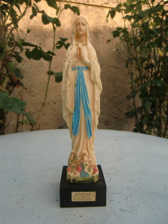 "Remember Lourdes ""Stauette Virgin Mary"""