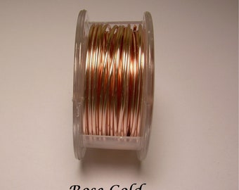 Rose Gold Craft Wire 26ga. 45ft. PRO - QUALITY