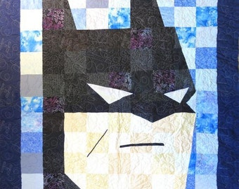Batman Quilt - Crib