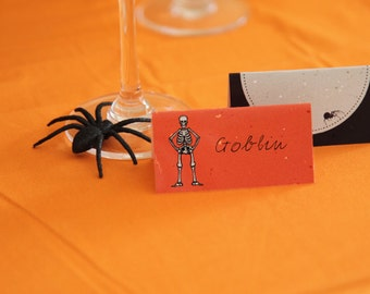 Instant Download: Halloween Printable for Candy Bag Toppers or Table Labels for School Decor or Party Gifts by daintzy