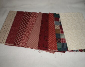Fabric - 9 Fat Quarters