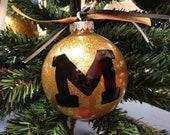 Hand-painted Missouri Tigers Ornament